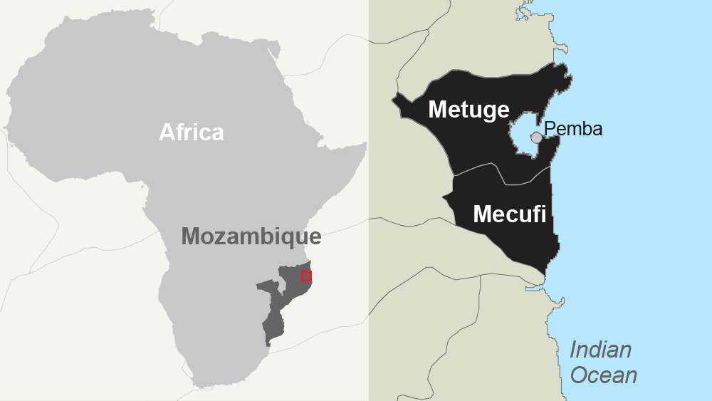 mecufi/metuge districts