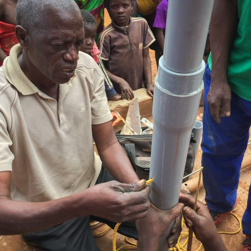 Mozambique well restoration, well mechanic, Cabo Delgado, Ancuabe District, Campine Community