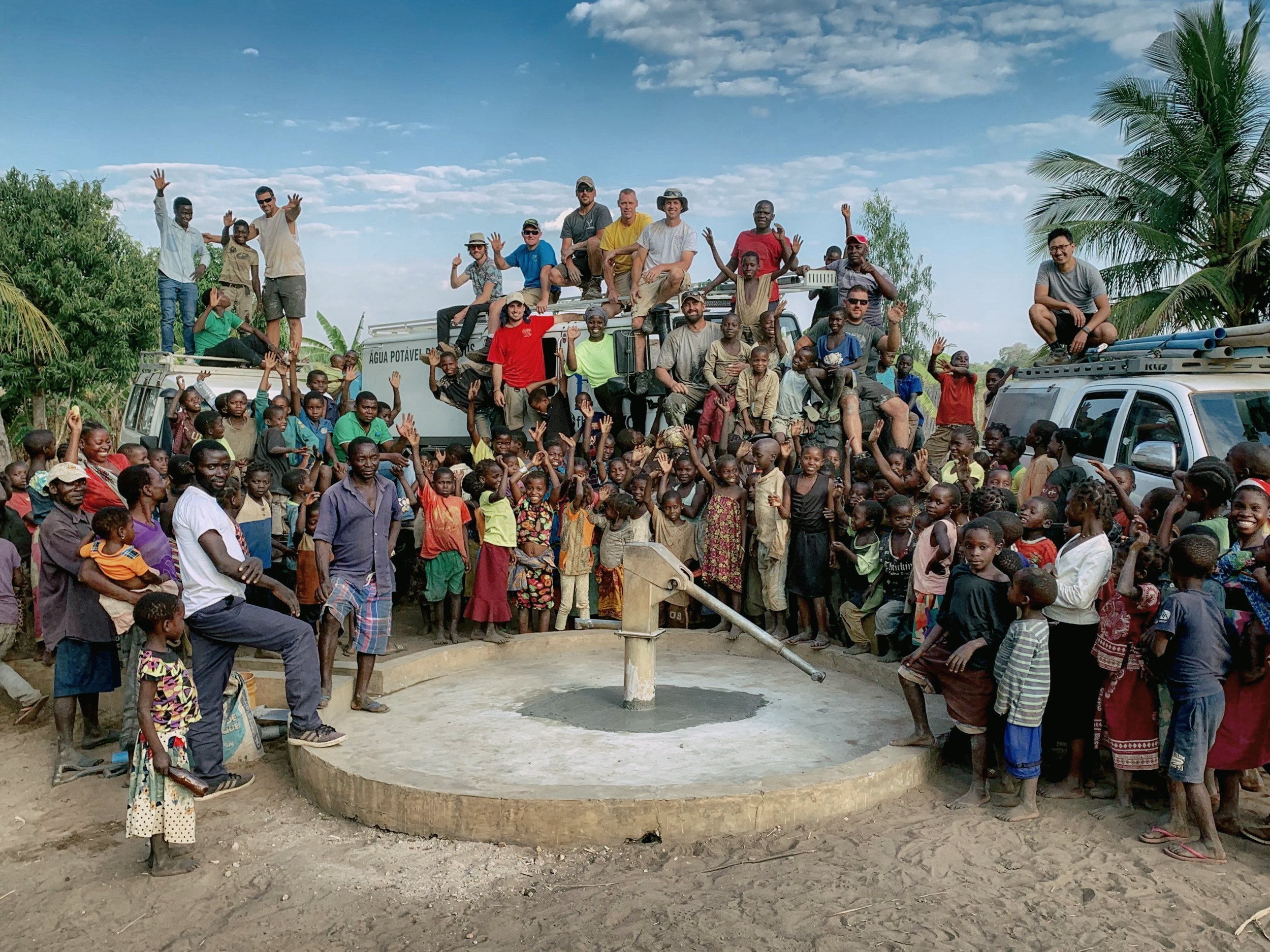 Well Restoration in Montepuez, Mozambique, Africa