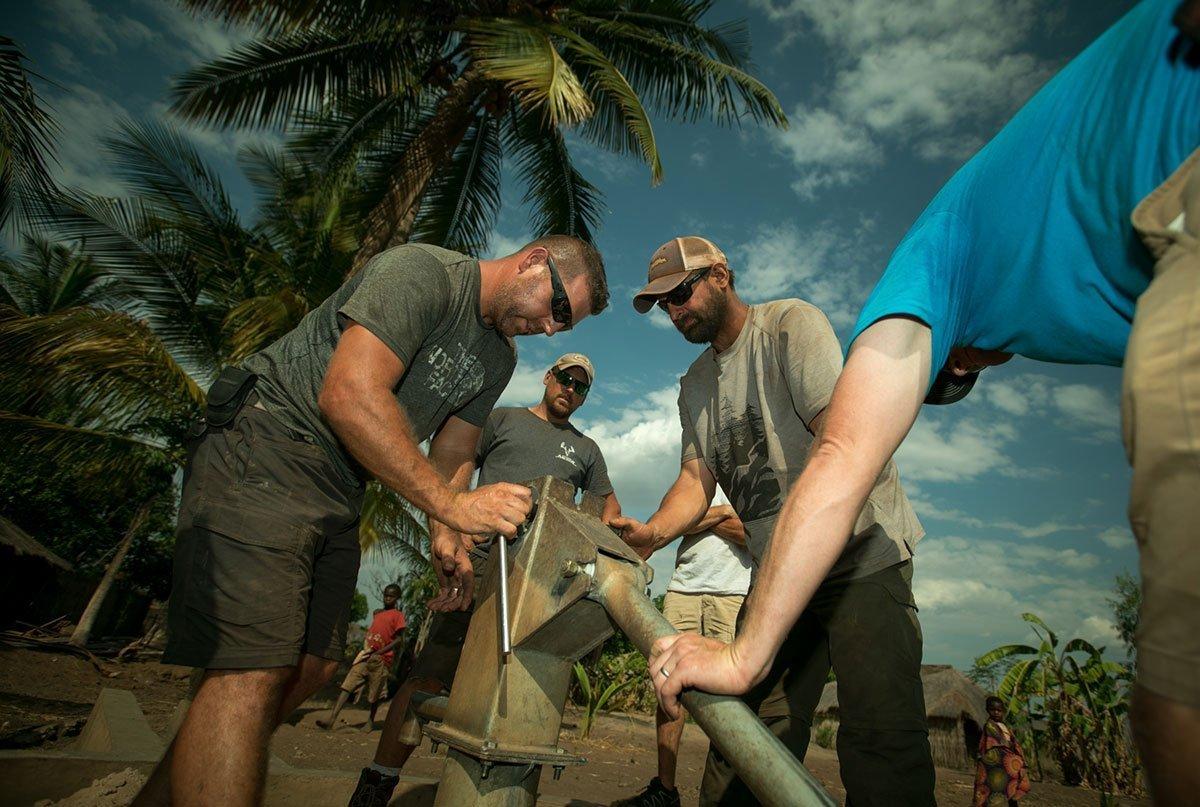 Vox well restoration in Montepuez Mozambique Africa