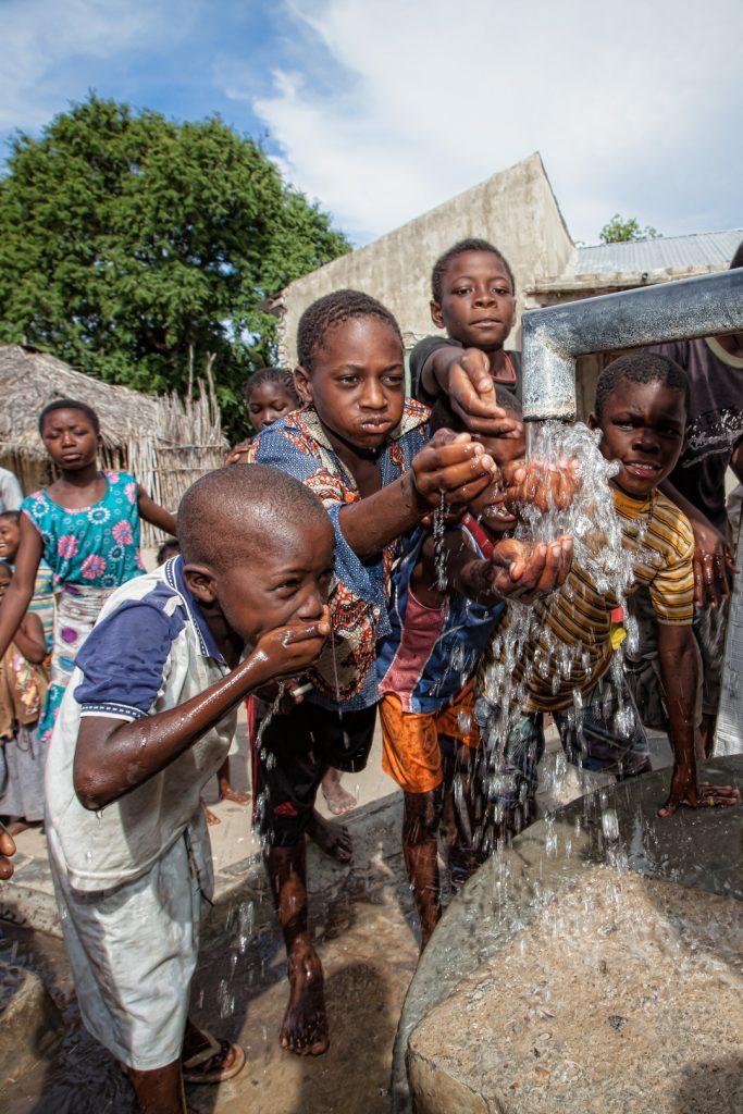 restored well, Mozambique