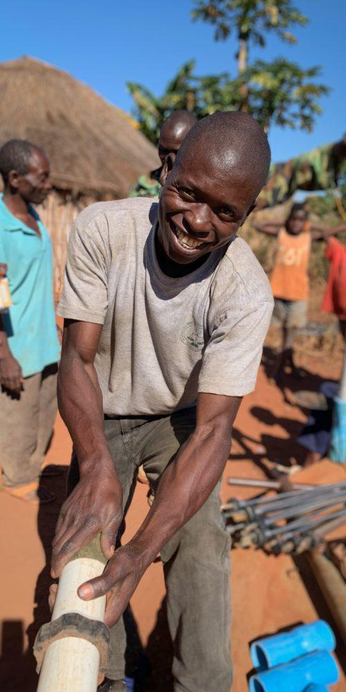Vox well restoration, Mozambique